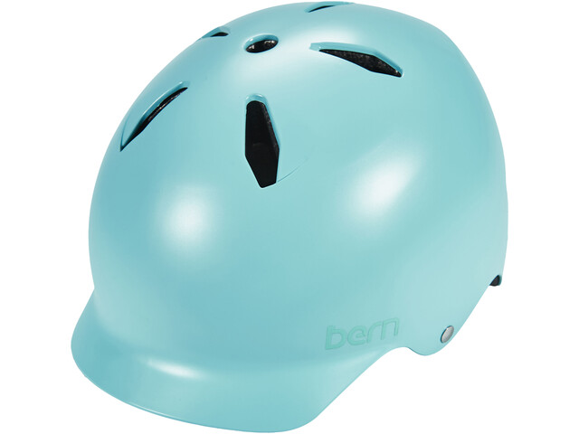 Bern Bandita EPS Helm Thin Shell Kinder satin-blau